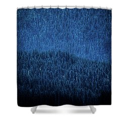 Shower Curtain featuring the photograph Solitude On Priest Lake by David Patterson