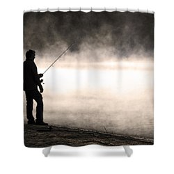 Shower Curtain featuring the photograph Solitude by Stephen Flint