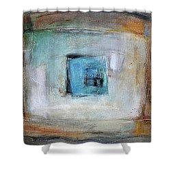 Solo Shower Curtain by Behzad Sohrabi