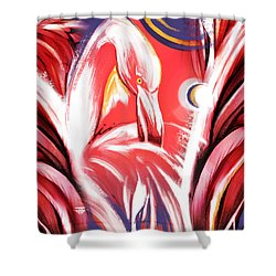 Solo Flamingo Shower Curtain