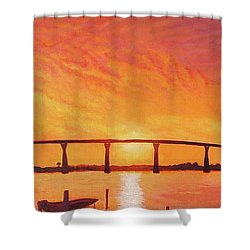 Solomons Magic Shower Curtain by Suzanne Shelden