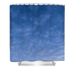Solstice Dawn Shower Curtain