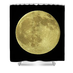 Solstice Moon Shower Curtain