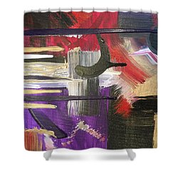 Solvent Cosmo Shower Curtain