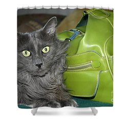 Someone Say Green? Shower Curtain