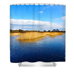 Somerset Levels Shower Curtain