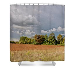 Shower Curtain featuring the photograph Somerset Sky 3069 by Guy Whiteley