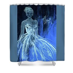 Something Blue Shower Curtain