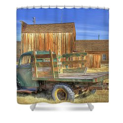 Shower Curtain featuring the photograph Somethin' 'bout A Truck by Donna Kennedy