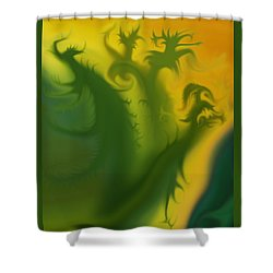 Something Green Shower Curtain
