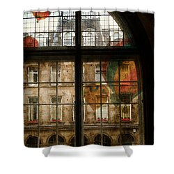 Shower Curtain featuring the photograph Something In The Air by Paul Lovering