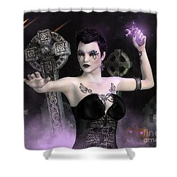 Something Wicked Shower Curtain