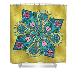 Something3 Shower Curtain