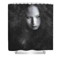 Somethings Brewing Shower Curtain by Scott Meyer