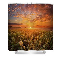 Sometimes Darkness Can Show You The Light Shower Curtain