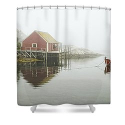 Sometimes We Need To Say Goodbye  Shower Curtain