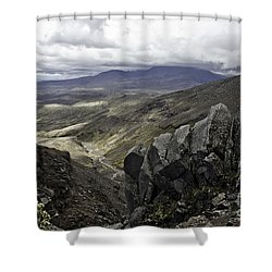 Somewhere In New Zealand Shower Curtain