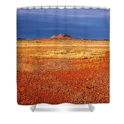 Somewhere In The Outback, Central Australia Shower Curtain