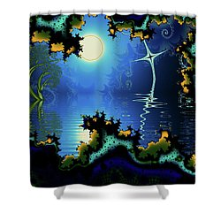 Somewhere In Time Shower Curtain