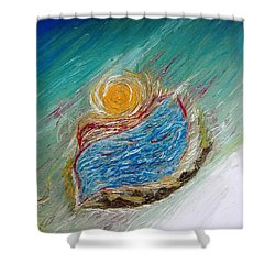 Somewhere There Is A Wonderful World ... Shower Curtain
