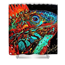 Son Of Iggy Shower Curtain