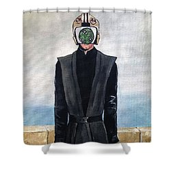 Son Of Sith Shower Curtain by Tom Carlton