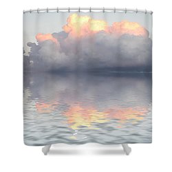 Son Of Zeus Shower Curtain by Jerry McElroy