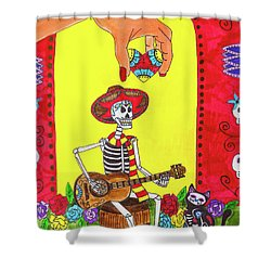 Song For The Soul Shower Curtain