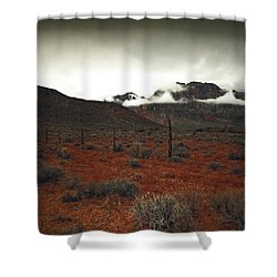 Song Shower Curtain by Mark Ross