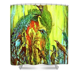 Song Of Costa Rica Shower Curtain
