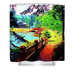 Song Of The Morning Camp Shower Curtain