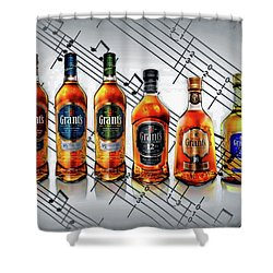Song Of The Spirits Shower Curtain
