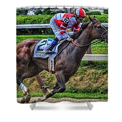 Songbird W Mike Smith Shower Curtain