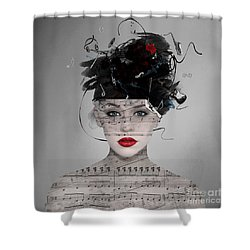 Songwriter Shower Curtain
