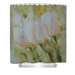 Sonnet To Tulips Shower Curtain