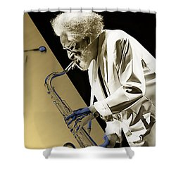 Sonny Rollins Collection Shower Curtain