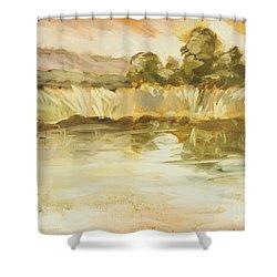 Sonoma Pond Ca Shower Curtain