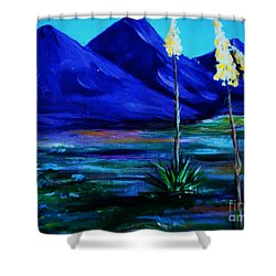 Sonora Shower Curtain by Melinda Etzold