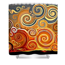 Sonora Sunrise  Shower Curtain