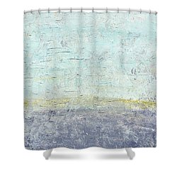 Sonoran Desert #3 Southwest Vertical Landscape Original Fine Art Acrylic On Canvas Shower Curtain