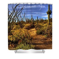 Sonoran Spring 01 Shower Curtain