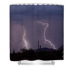 Sonoran Storm Shower Curtain by James BO  Insogna