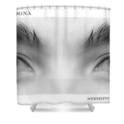 Son's Eyes Shower Curtain by James BO  Insogna