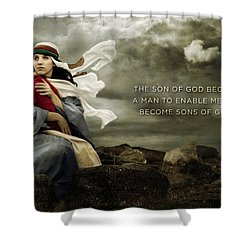 Sons Of God Shower Curtain