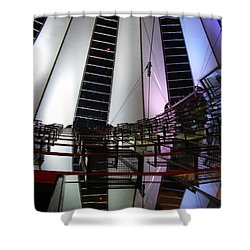 Sony Center II Shower Curtain by Flavia Westerwelle