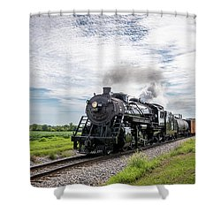Soo 1003 At Darien Shower Curtain