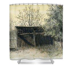Soon Forgotten Shower Curtain