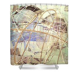 Soothe Shower Curtain by Melissa Goodrich