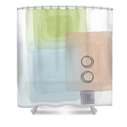 Soothing Harmony 2- Art By Linda Woods Shower Curtain