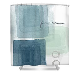 Soothing Peace- Art By Linda Woods Shower Curtain